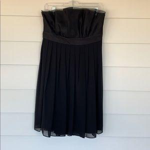 WHBM Empire Waist Black Dress